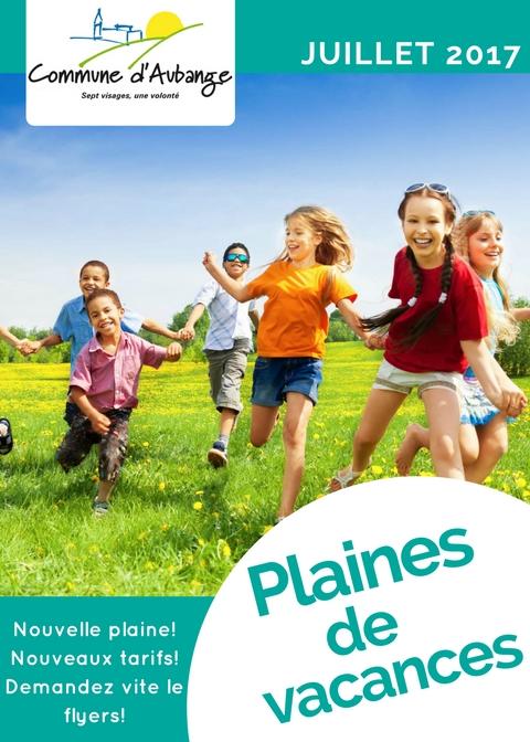Vacances Juillet 2017 : plaines de vacances juillet 2017 news aubange ~ Medecine-chirurgie-esthetiques.com Avis de Voitures