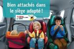 Campagne de sécurité routière – Siège-auto